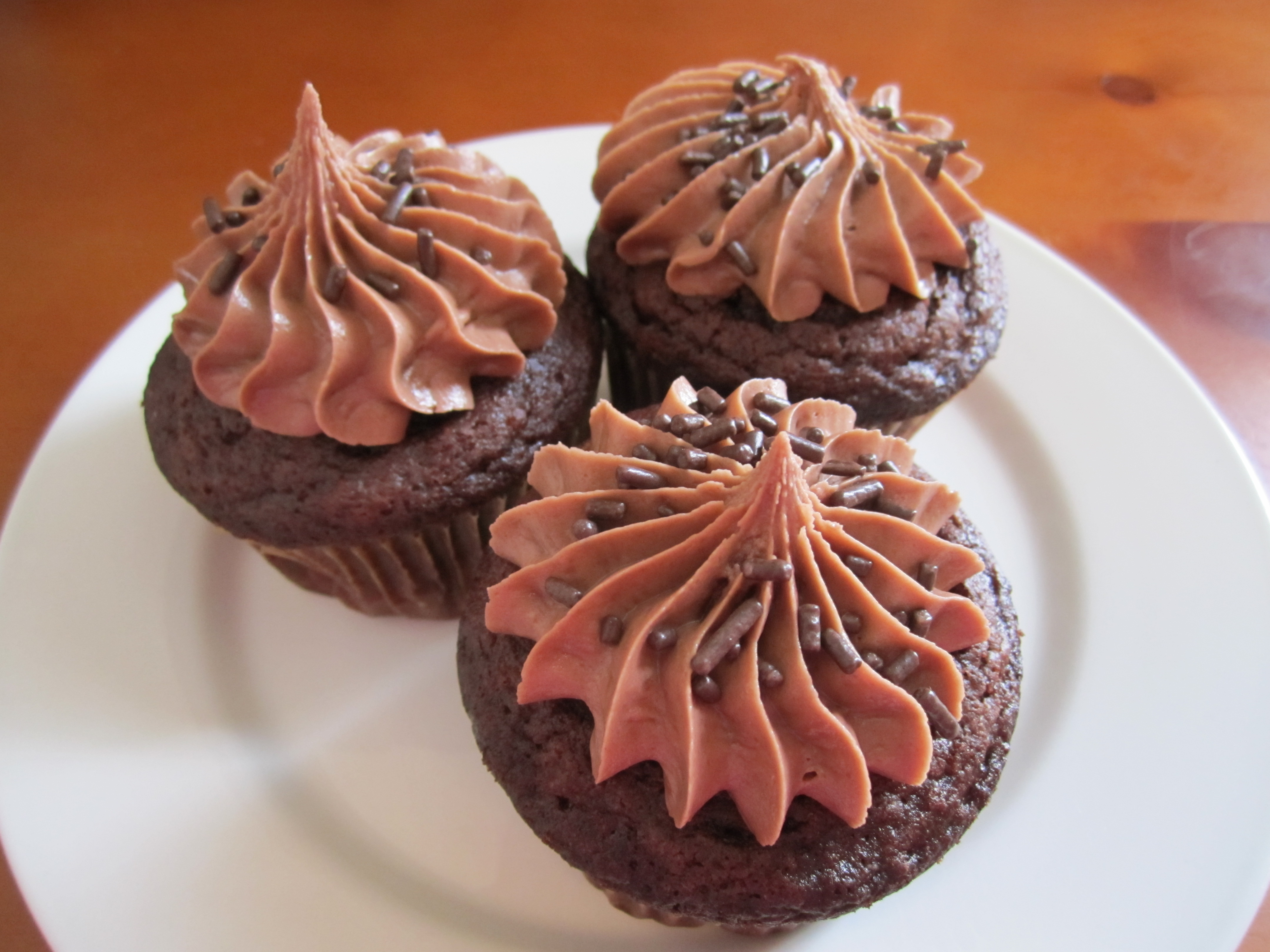 Nutella Cupcakes - Eat. Drink. Love.