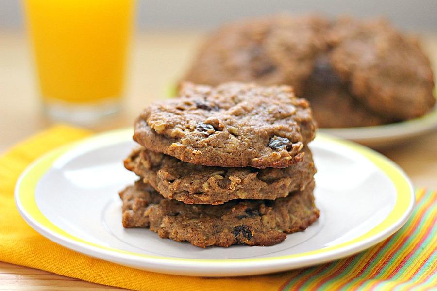 Рецепт печенья с овсянкой и бананом