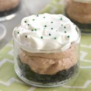 No-Bake Irish Cream Cheesecakes