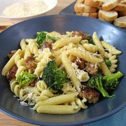 Spicy-Sausage-and-Broccoli-Pasta-11