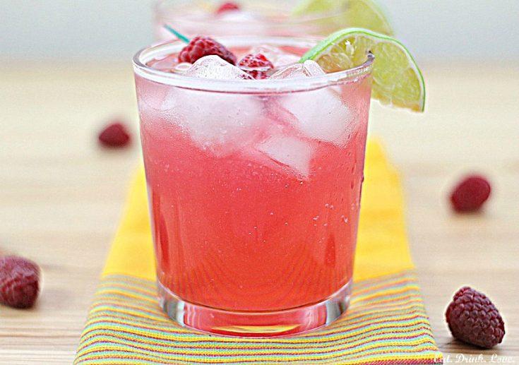 Skinny Raspberry Margaritas