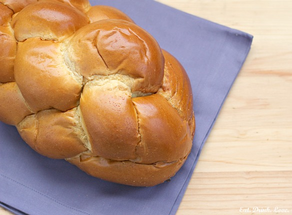 Challah Bread French Toast with Lemon Mascarpone