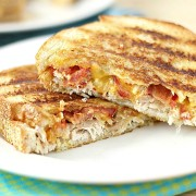Chicken Bacon Paninis-with Spicy Chipotle Mayo