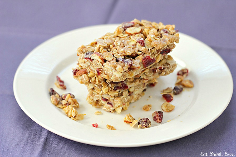 Chewy Granola Bars - Eat. Drink. Love.