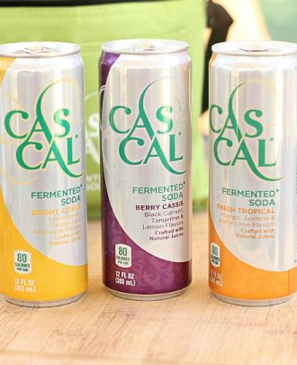 Cascal Natural Soft Drink and a Giveaway!