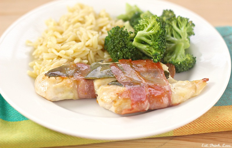 Lemon Chicken Saltimbocca