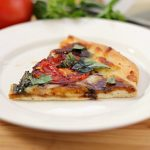 Caprese Pizza with Balsamic Reduction