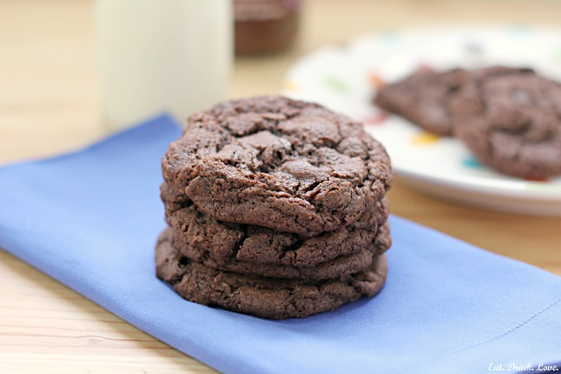 Chocolate Hazelnut Cookies - Eat. Drink. Love.
