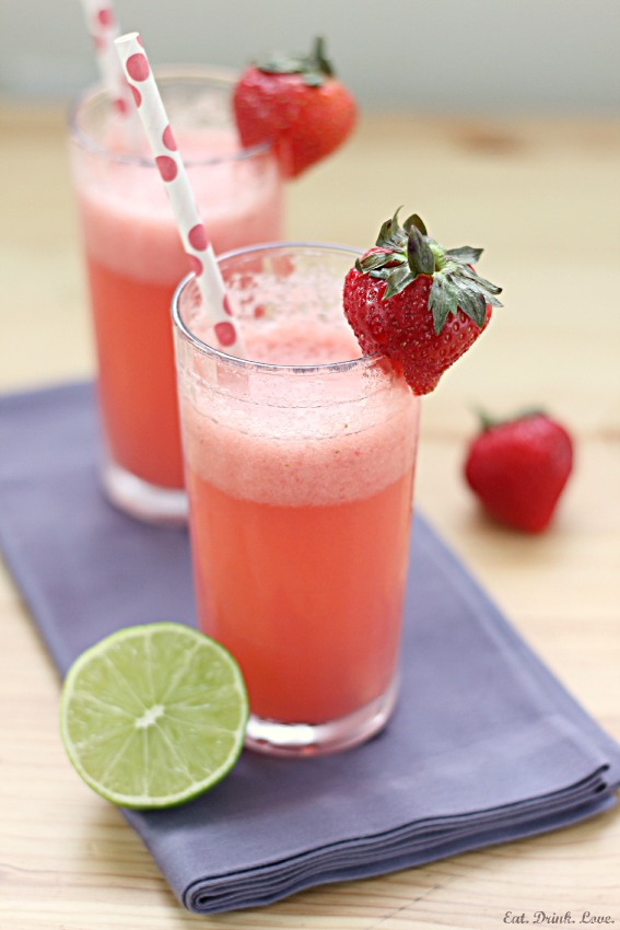 Strawberry Watermelon Coolers
