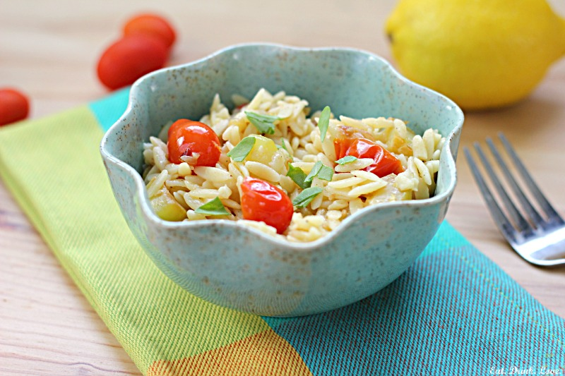 Summer Lemon Orzo