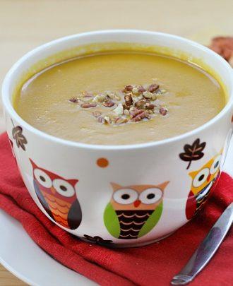 Skinny Bitch Tuesdays: Apple Pumpkin Soup