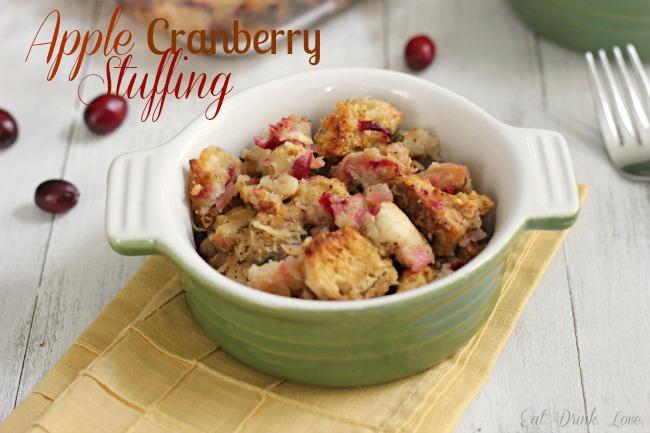 Apple Cranberry Stuffing