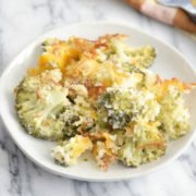Low-Fat Broccoli Gratin