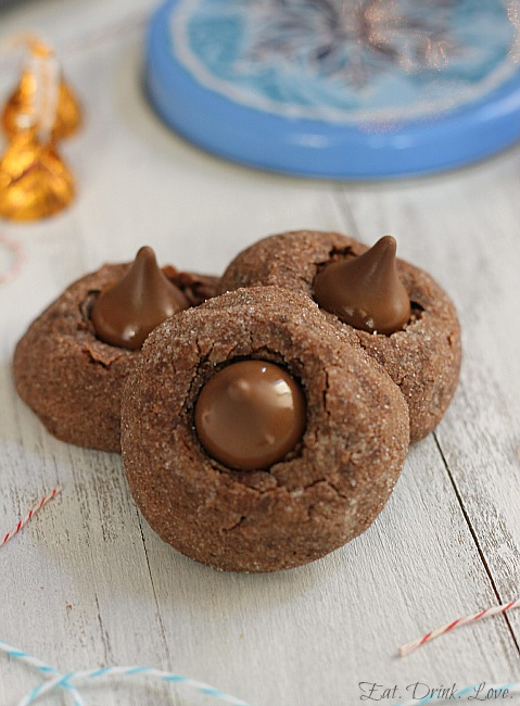 Chocolate Caramel Blossoms
