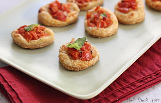 Tomato Parmesan Tarts