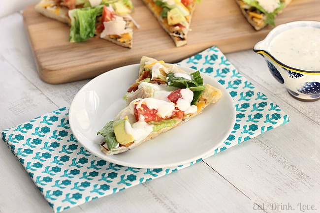 Cobb Salad Pizza