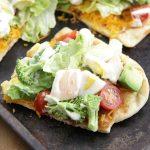 Cobb Salad Pizza