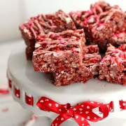 Red Velvet Ricee Krispie Treats | Eat. Drink. Love.