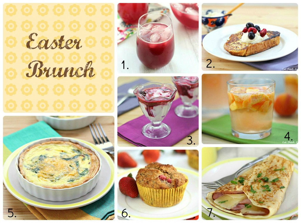 Easter Brunch Collage 1