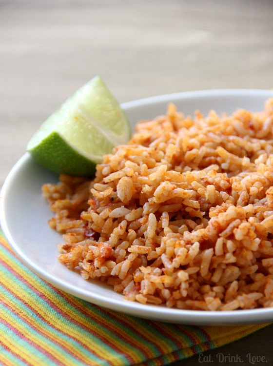 Easy Mexican Rice - Eat. Drink. Love.