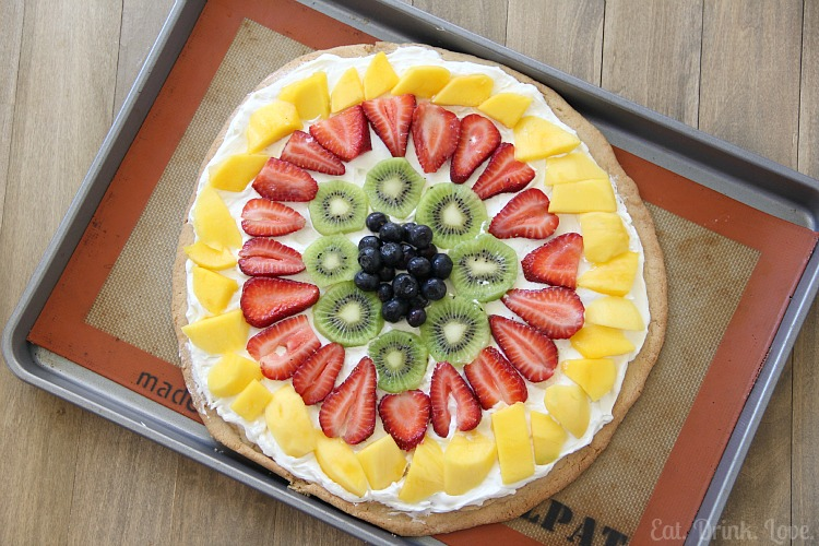 Fruit Pizza - Eat. Drink. Love.