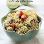 Tex-Mex Quinoa Salad with Lime Vinaigrette