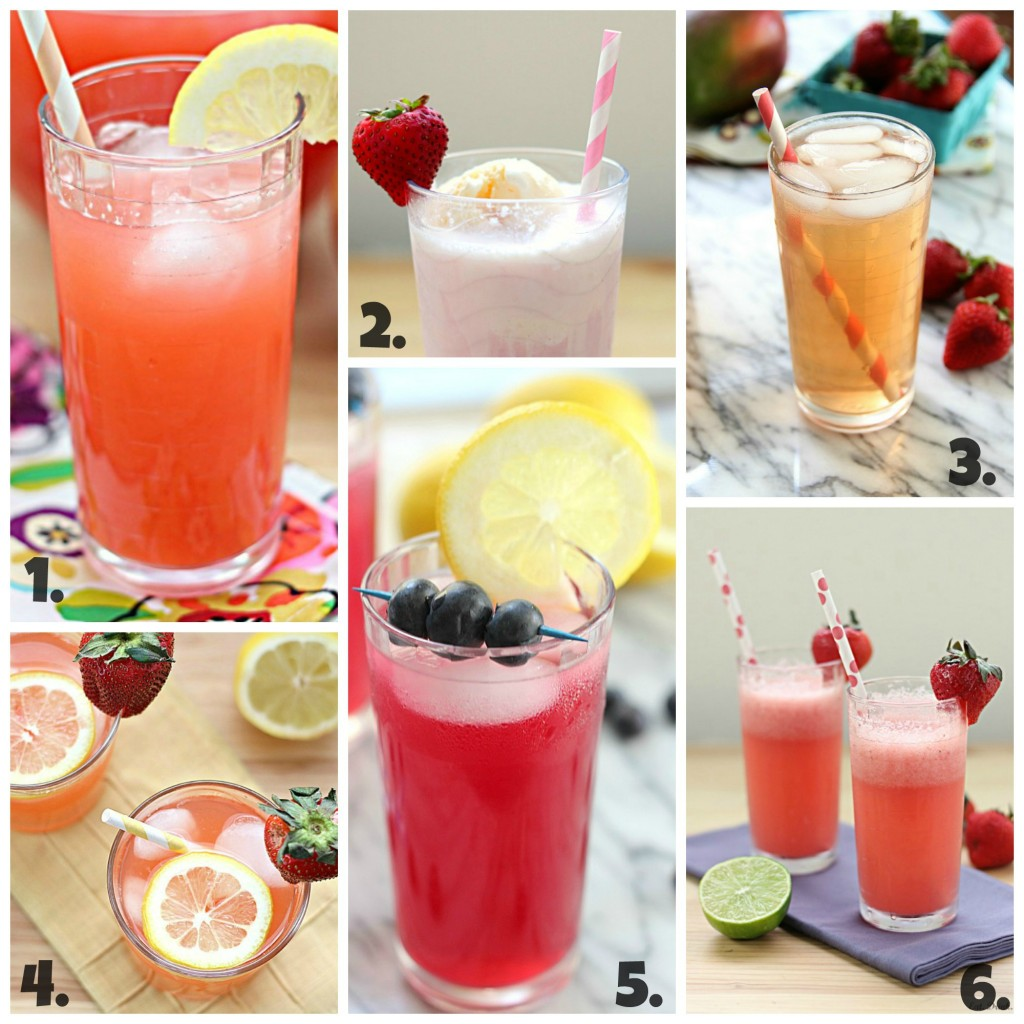12 Summer Drink and Cocktail Recipes