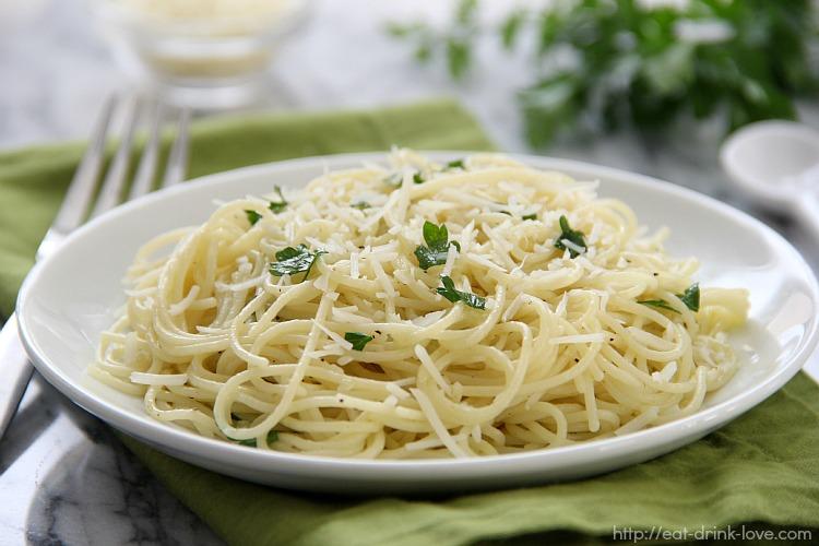 Pasta Aglio Oilio 2 mark