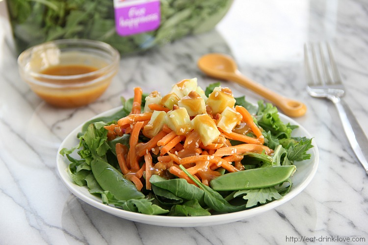Asian Sesame Peanut Salad