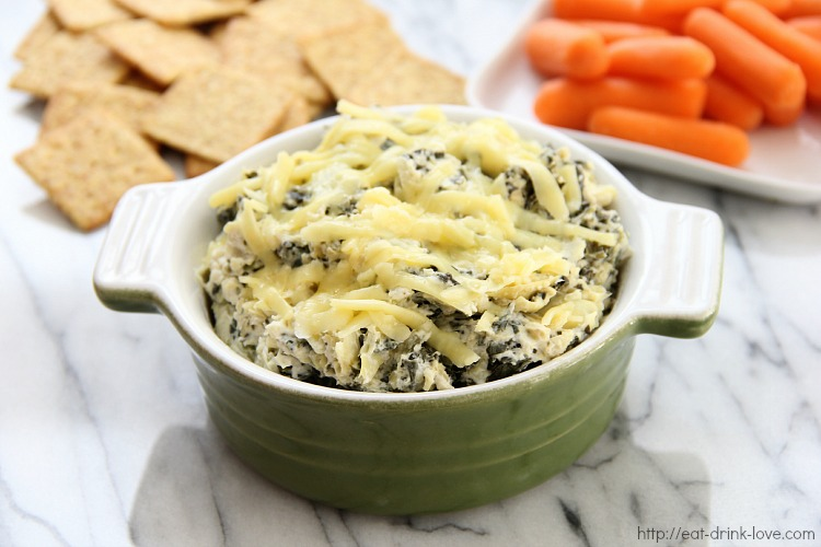 Low-Fat Spinach Artichoke Dip