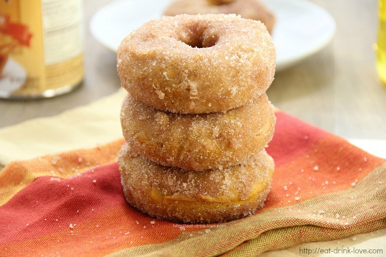 Baked Pumpkin Doughnuts - Eat. Drink. Love.