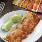 Stovetop Chicken Enchiladas