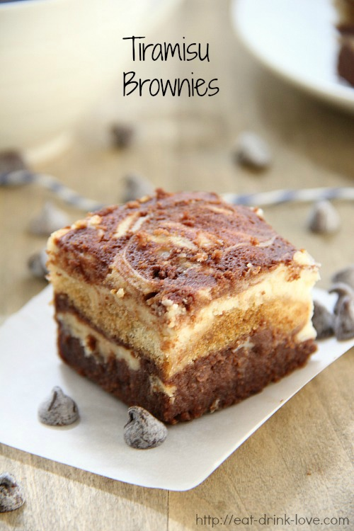 Tiramisu brownies eat drink love forumfinder Gallery