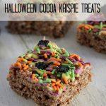 Halloween Cocoa Krispies