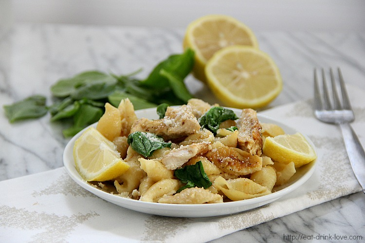 Lemony Chicken Pasta