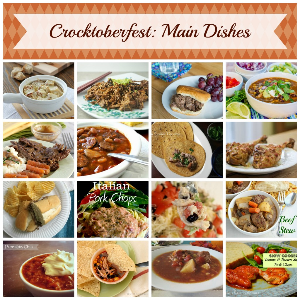 Crocktoberfest Main Dishes