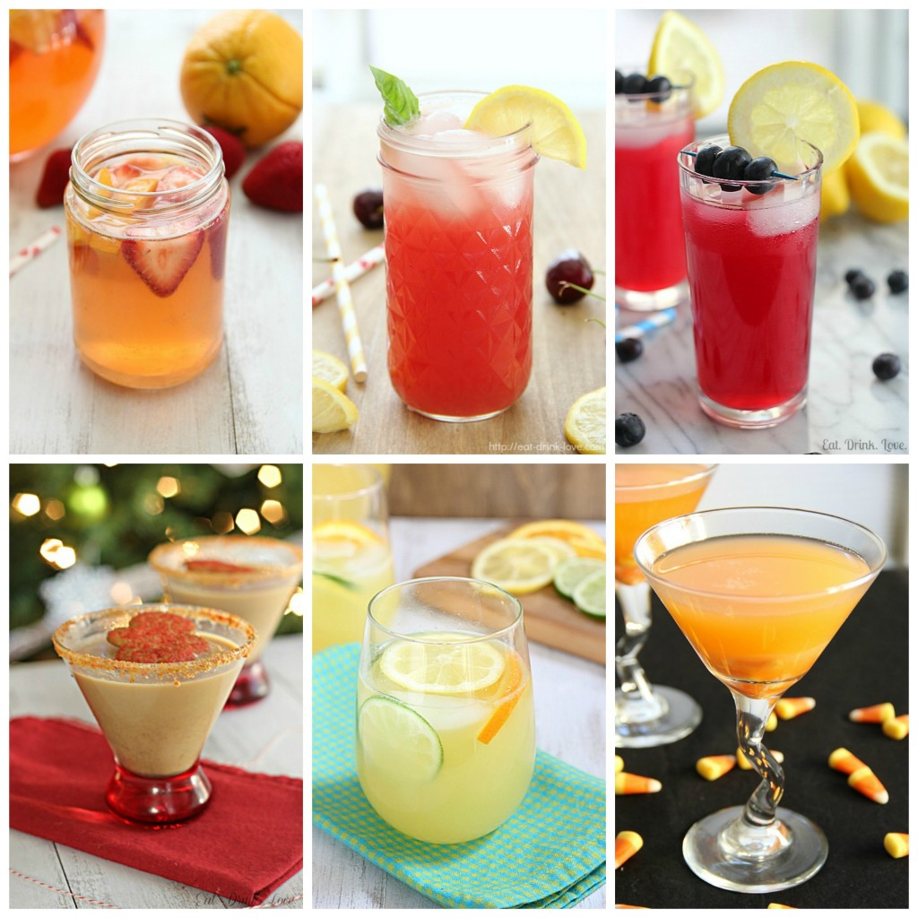 Props Drinks Collage