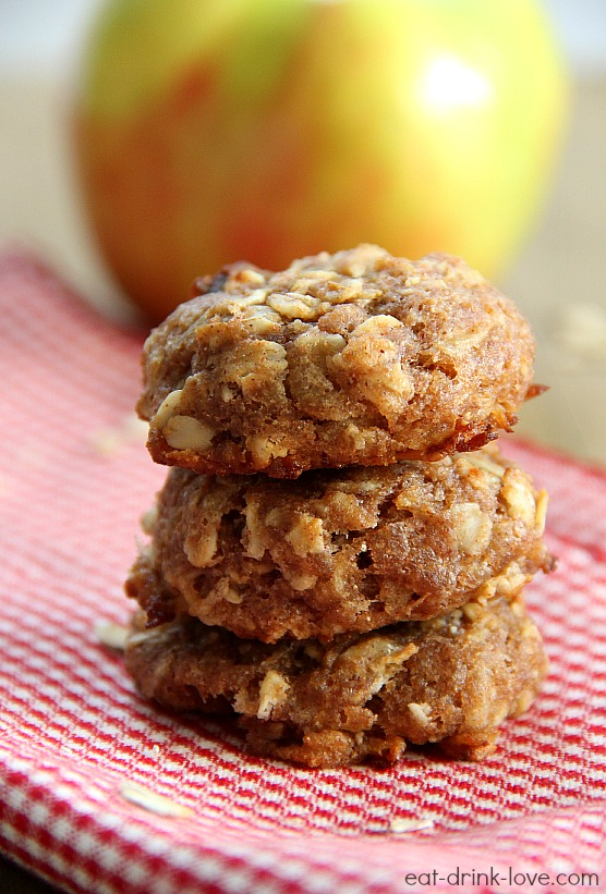 Apple Cinnamon Breakfast Cookies