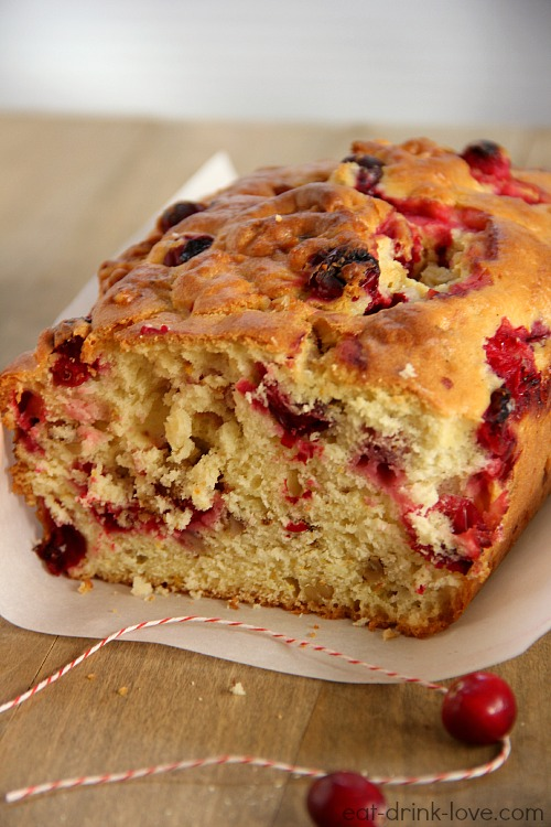Cranberry Orange Bread and Bing's Food and Drink App - Eat. Drink ...