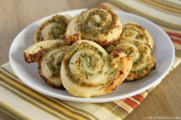 Pesto Pinwheels