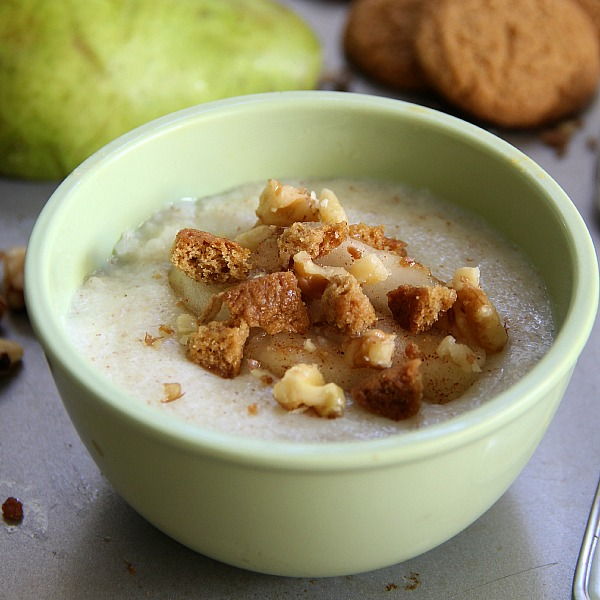 Ginger Pear Cream of Wheat