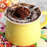 Five-Minute Nutella Mug Cake