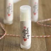 Homemade Vanilla Lip Balm