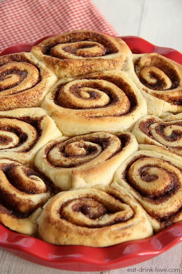 Hour Cinnamon Rolls - Eat. Drink. Love.