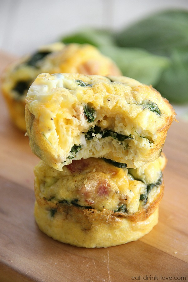 Low-Carb Egg Muffins - Eat. Drink. Love.