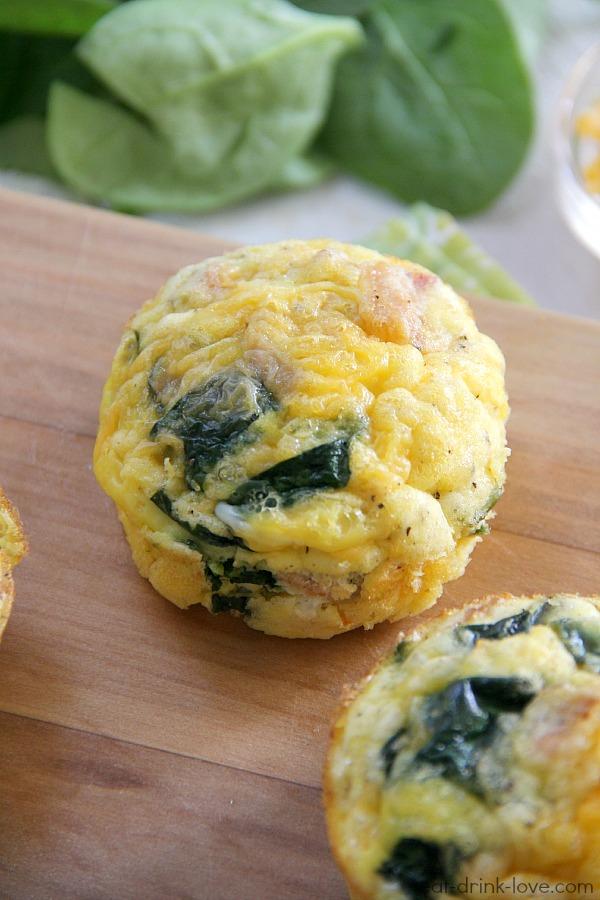low carb egg muffins eat drink love. Black Bedroom Furniture Sets. Home Design Ideas