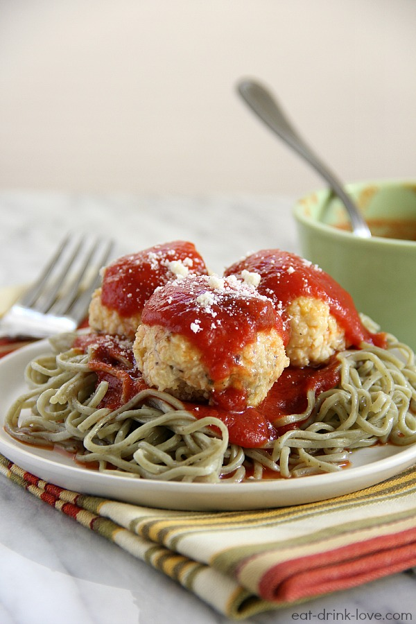 Garlic Chicken Meatballs