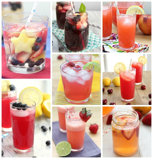 4th of July Recipe Roundup, Drinks