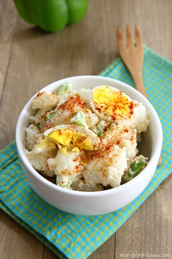 dad s potato salad a plate of potato salad bacon cheddar potato salad ...