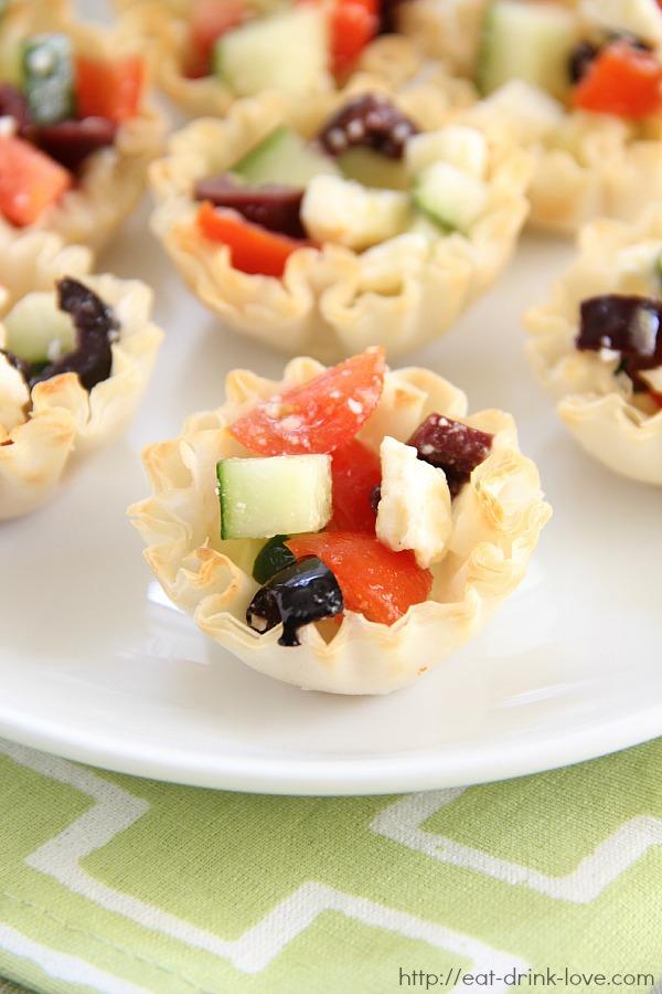 Greek Pastry Bites